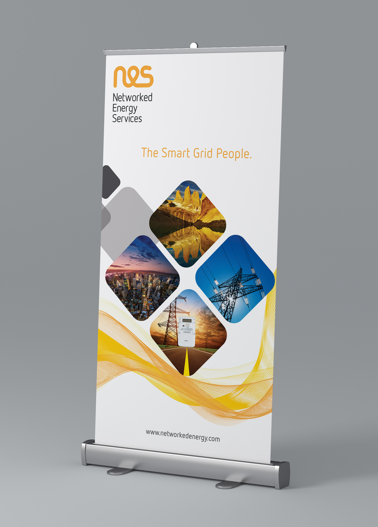 Networked Energy Services -  Roll Up Banner